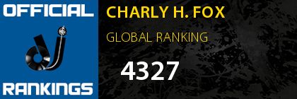 CHARLY H. FOX GLOBAL RANKING