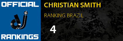CHRISTIAN SMITH RANKING BRAZIL