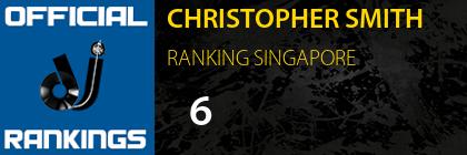 CHRISTOPHER SMITH RANKING SINGAPORE