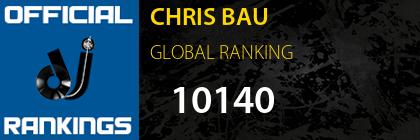 CHRIS BAU GLOBAL RANKING
