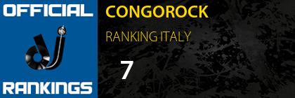 CONGOROCK RANKING ITALY