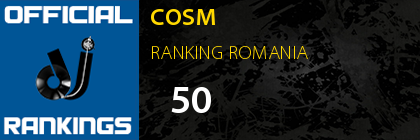 COSM RANKING ROMANIA