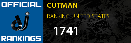 CUTMAN RANKING UNITED STATES