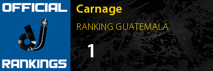 Carnage  RANKING GUATEMALA