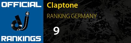 Claptone RANKING GERMANY