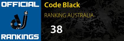 Code Black RANKING AUSTRALIA