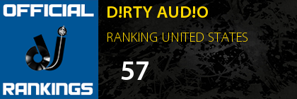 D!RTY AUD!O RANKING UNITED STATES