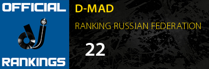 D-MAD RANKING RUSSIAN FEDERATION