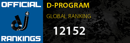 D-PROGRAM GLOBAL RANKING