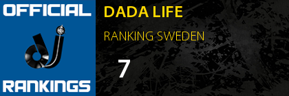 DADA LIFE RANKING SWEDEN