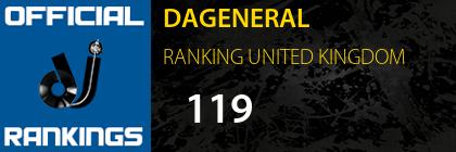 DAGENERAL RANKING UNITED KINGDOM