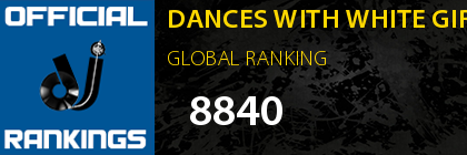 DANCES WITH WHITE GIRLS GLOBAL RANKING