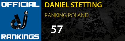 DANIEL STETTING RANKING POLAND