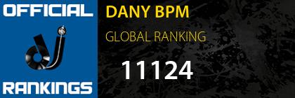 DANY BPM GLOBAL RANKING
