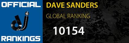 DAVE SANDERS GLOBAL RANKING