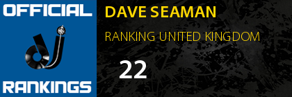 DAVE SEAMAN RANKING UNITED KINGDOM