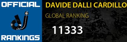 DAVIDE DALLI CARDILLO GLOBAL RANKING
