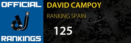 DAVID CAMPOY RANKING SPAIN
