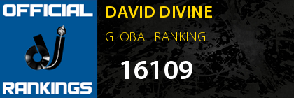 DAVID DIVINE GLOBAL RANKING