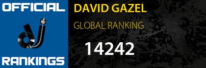 DAVID GAZEL GLOBAL RANKING