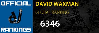 DAVID WAXMAN GLOBAL RANKING