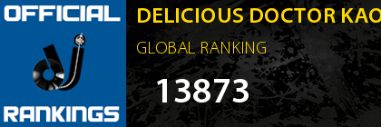 DELICIOUS DOCTOR KAOS SHIZZLE GLOBAL RANKING