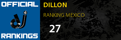 DILLON RANKING MEXICO