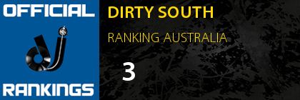 DIRTY SOUTH RANKING AUSTRALIA
