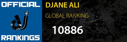 DJANE ALI GLOBAL RANKING