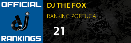 DJ THE FOX RANKING PORTUGAL