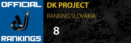 DK PROJECT RANKING SLOVAKIA