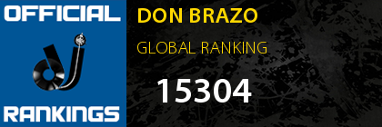 DON BRAZO GLOBAL RANKING
