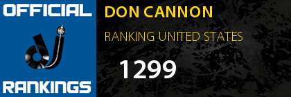 DON CANNON RANKING UNITED STATES