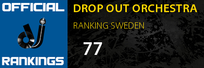 DROP OUT ORCHESTRA RANKING SWEDEN