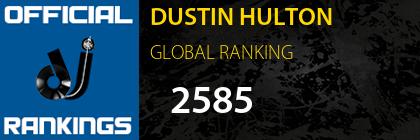DUSTIN HULTON GLOBAL RANKING