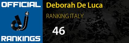 Deborah De Luca RANKING ITALY