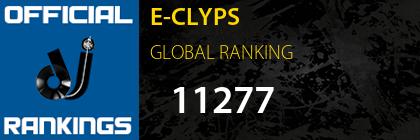 E-CLYPS GLOBAL RANKING