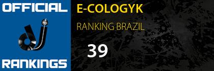 E-COLOGYK RANKING BRAZIL