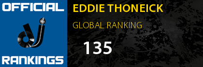 EDDIE THONEICK GLOBAL RANKING