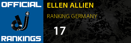 ELLEN ALLIEN RANKING GERMANY