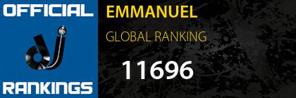 EMMANUEL GLOBAL RANKING