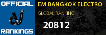 EM BANGKOK ELECTRO GLOBAL RANKING