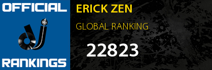 ERICK ZEN GLOBAL RANKING