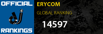 ERYCOM - Official Global DJ Rankings