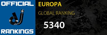 EUROPA GLOBAL RANKING