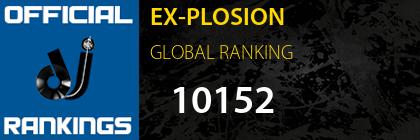 EX-PLOSION GLOBAL RANKING