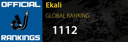 Ekali GLOBAL RANKING