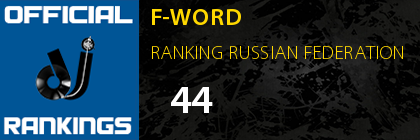 F-WORD RANKING RUSSIAN FEDERATION