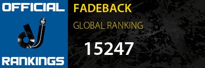 FADEBACK GLOBAL RANKING