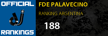 FDE PALAVECINO RANKING ARGENTINA